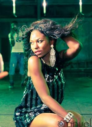 Niyola at Dont Delay video shoot-006