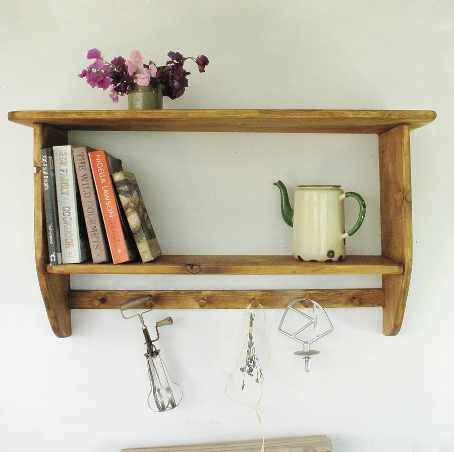 Farmhouse Kitchen Cook Book Shelf By Seagirl And Magpie