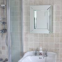 deep all glass bathroom mirror by decorative mirrors ...