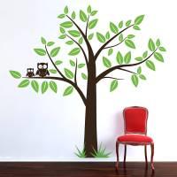 wall stickers tree 2017 - Grasscloth Wallpaper