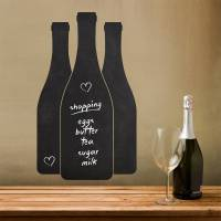 wine bottles write and erase wall sticker by sirface ...