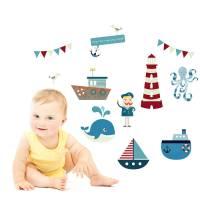 row your boat wall stickers by parkins interiors ...