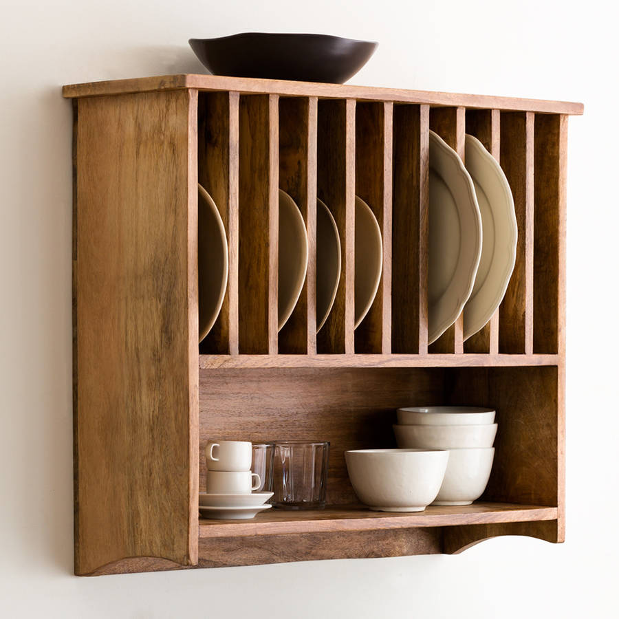 Wall Mounted Plate Rack By Within Home