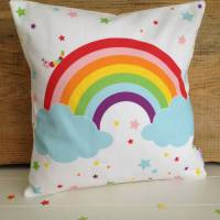 children's rainbow cushion by halfpinthome ...