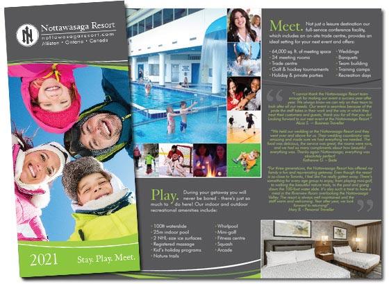 Brochures  Resort Getaway Packages at Our Award Winning Resort