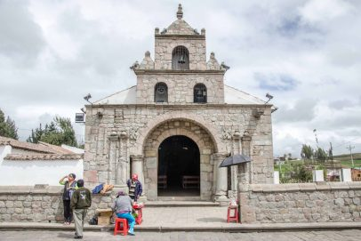 La Balbanera, the Oldest Church in Ecuador