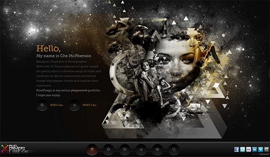 40 Must-See Portfolio-Websites Of Photographers, Illustrators and