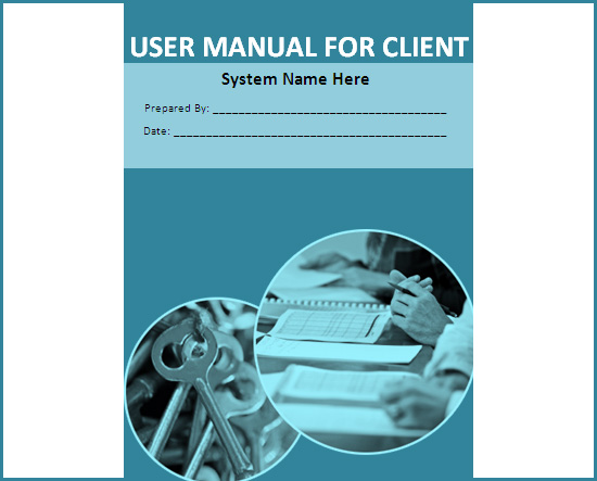 PDF system user manual template (28 pages) - sle user manual - software manual template