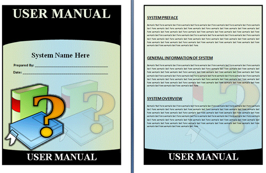 Boring Work Made Easy Free Templates for Creating Manuals - noupe - software manual template