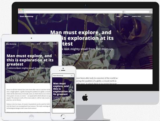 Blast from the Past #4 100 Best Free HTML/CSS Themes of 2014 The