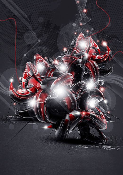 Red And Black Graffiti Wallpaper 55 Amazing 3d Abstract Artworks Amp Wallpapers The Jotform