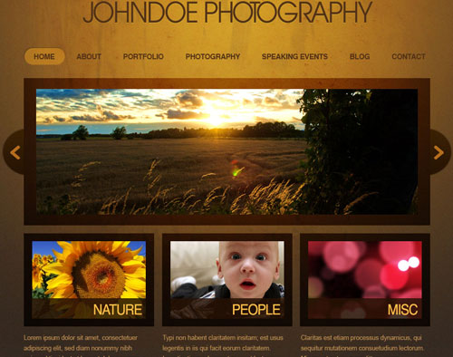 Photoshop Web Design Layout Tutorials from 2010 - noupe - how to create a website template