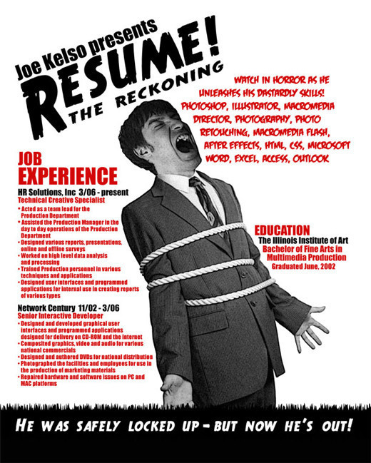 How do you materpiece a resume