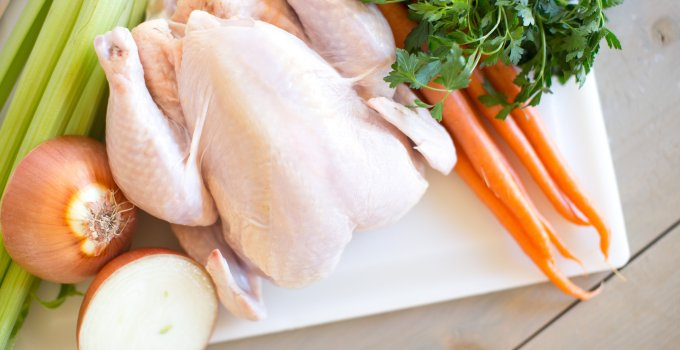 Homemade Chicken Stock.