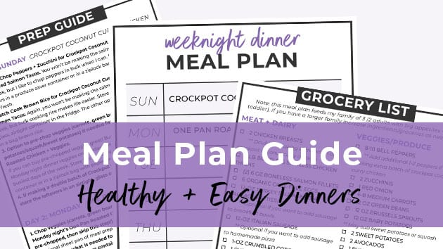 How to Meal Prep 7-Day Meal Plan + Grocery List Nourish Move Love