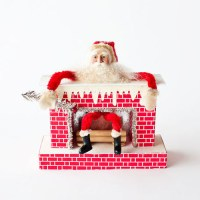 RETRO SANTA CHRISTMAS DECORATION | modern design by ...