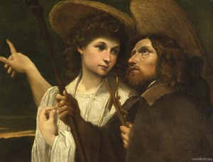 Annibale-Carracci-xx-St-Roch-and-the-Angel