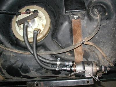 Gen III+ Fuel System Integration Kit for TJ Wranglers  XJ Cherokees