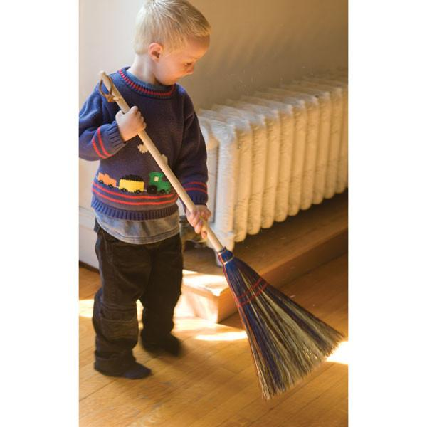 Child Sized Broom Kids Cleaning Nova Natural Toys Crafts