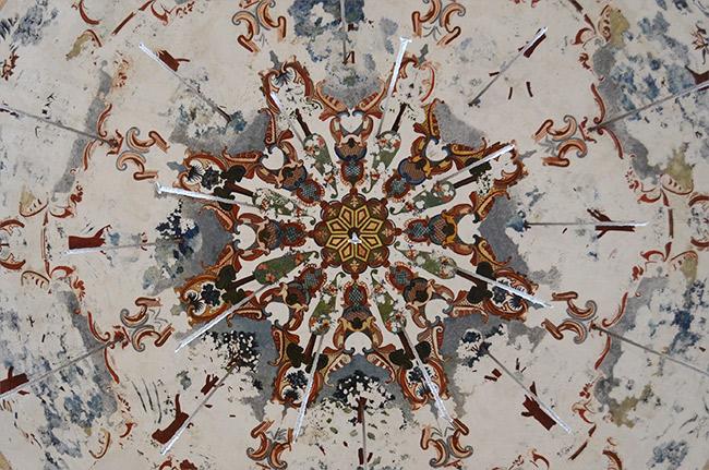 Ishak Palace ceiling