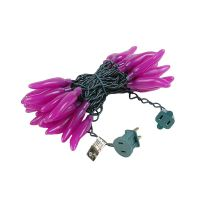 purple Chili Pepper Light Strings with 35 Lighted Peppers ...