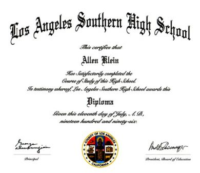 High School Diploma + Transcript - Novelty Works Degrees