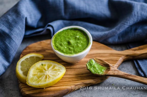 Mint chutney- a versatile condiment that goes great with appetizers and is an excellent sandwich spread