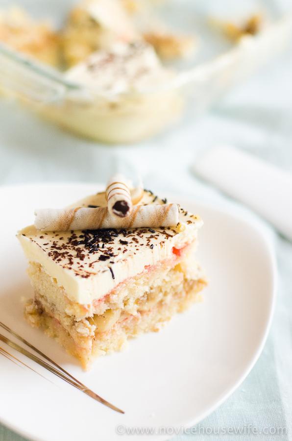 banana trifle pudding | The Novice Housewife