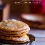 Garam Masala Tuesdays: Sweet mathri/ Meethi mathri