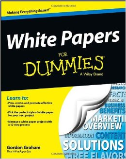White Papers for Dummies on www.novytechandcopy.com