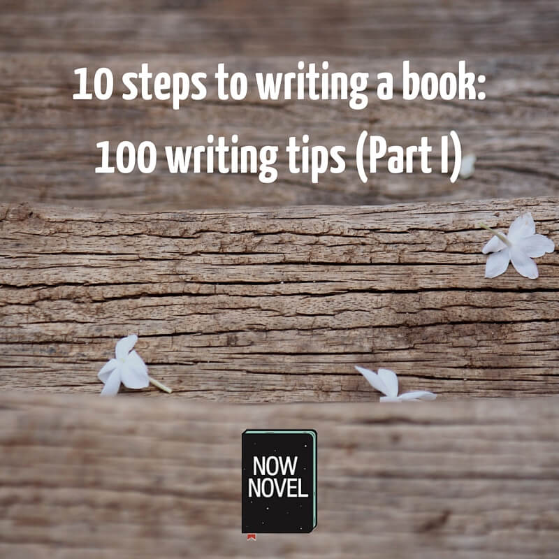 10 Steps to Writing a Book - 100 Tips (Part 1) Now Novel