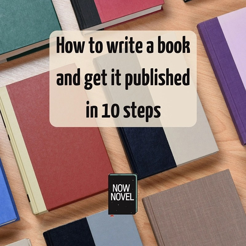 How to Write a Book and Get it Published Now Novel - book writing