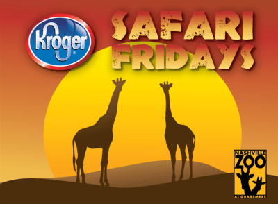 Things to Do | Kroger Safari Fridays at Nashville Zoo