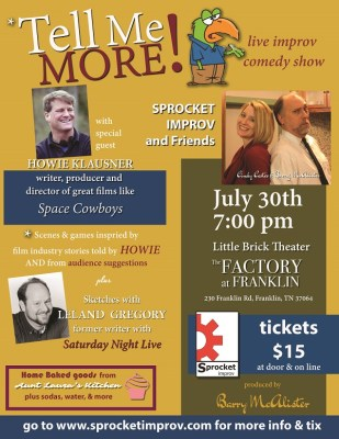Things To Do In Franklin | Comedy at The Factory