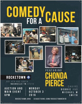 Comedy For A Cause at Rocketown