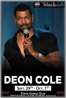 Deon Cole at Zanies