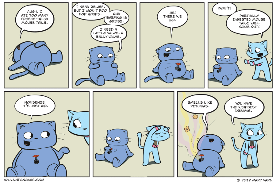 Barfing is gross, but this comic isn't. Nope. Uh uh.