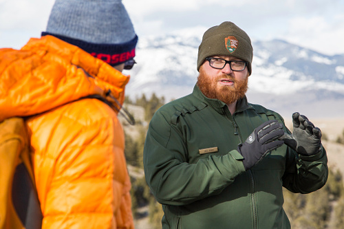 sample resume national park service