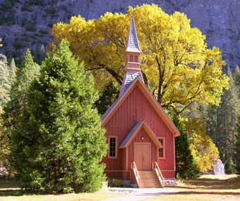 Fall Wedding Wallpaper Yosemite Chapel Yosemite National Park U S National