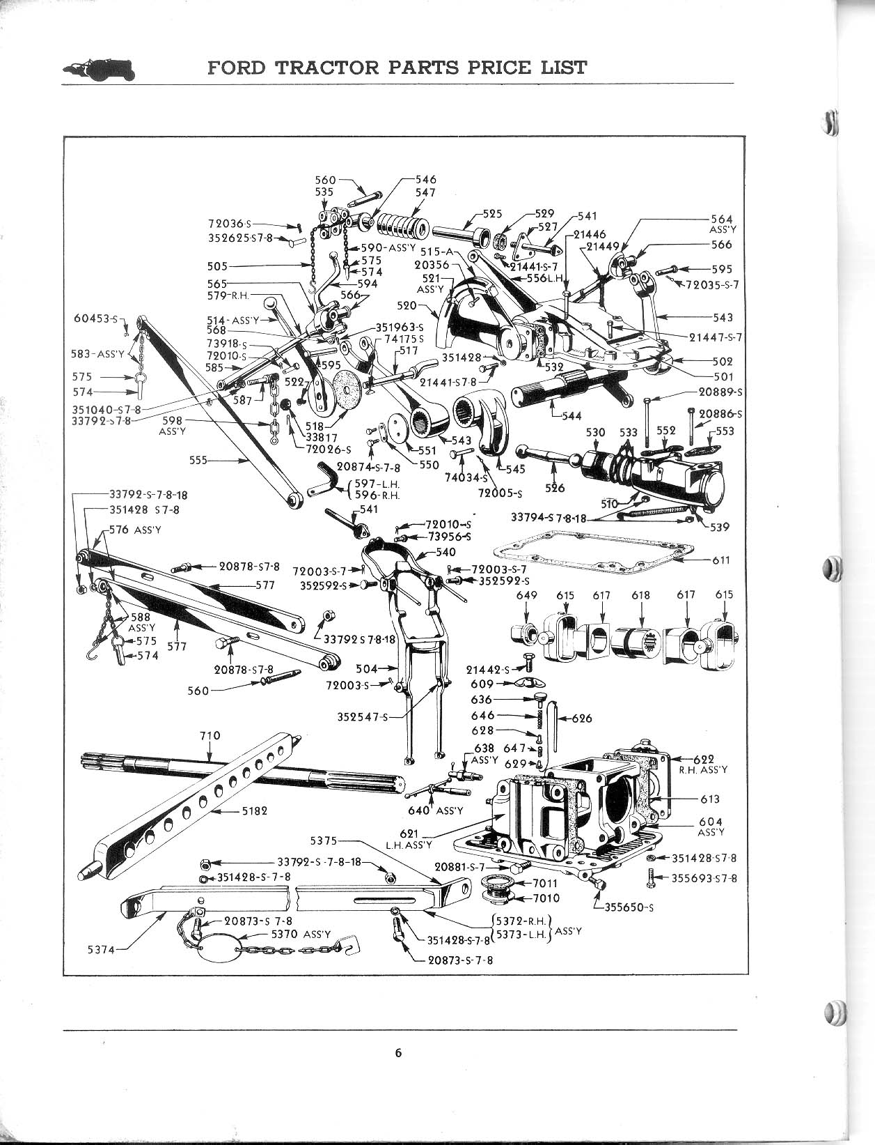 1942 ford tractor wiring diagram