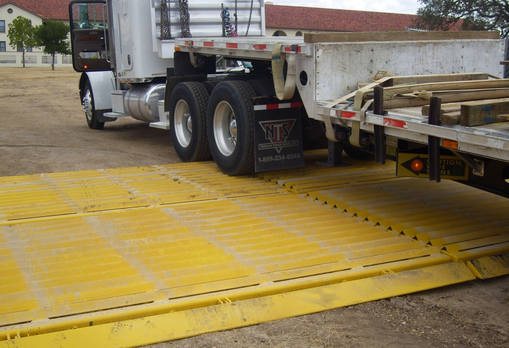 Tire Cleaning Grids National Trench Safety