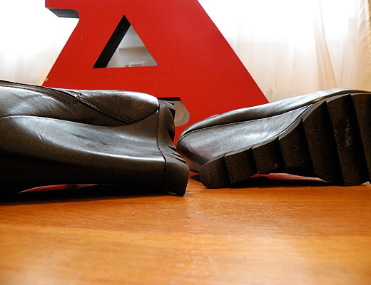 nubby twiglet camilla skovgaard wedge booties shoes avant garde fashion