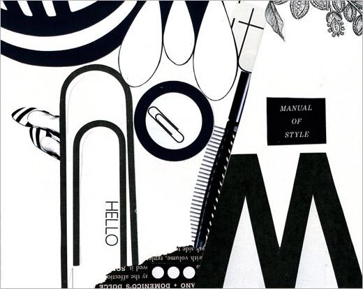 avant garde magazine typography design
