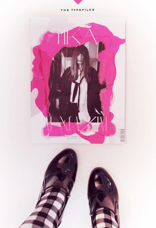 Typofiles Rika Magazine
