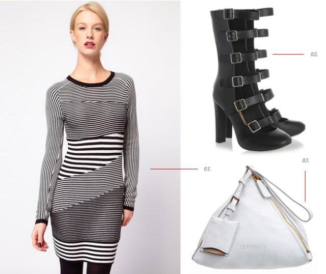 What I Wore: Straps & Stripes