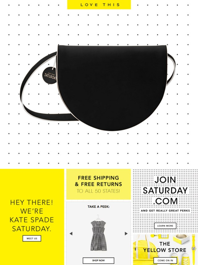 Latest & Greatest: Kate Spade Saturday