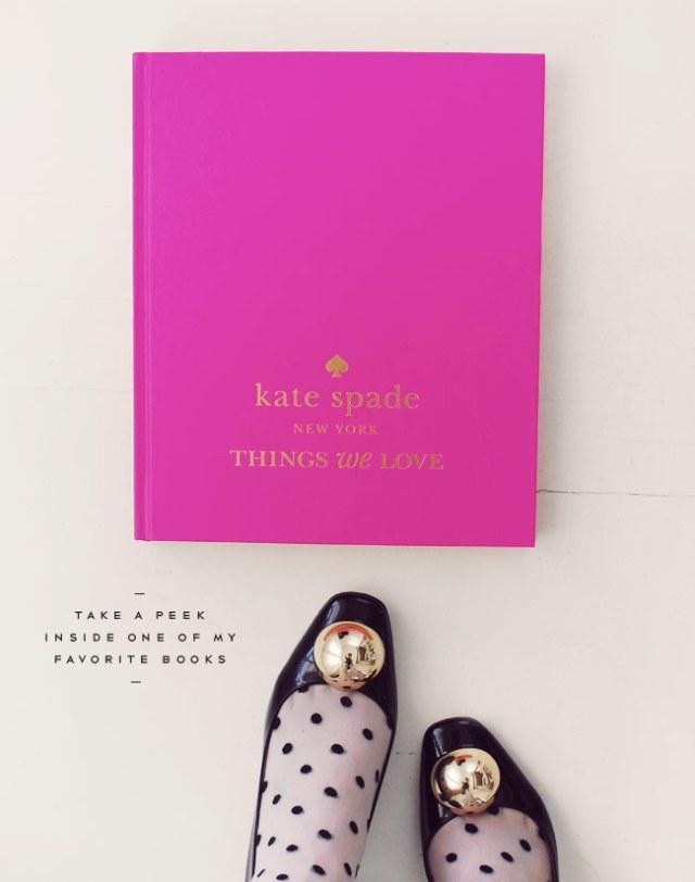 Look Book #1: Things We Love by Kate Spade