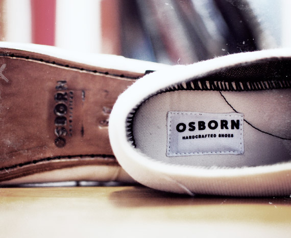osborn spike shoes