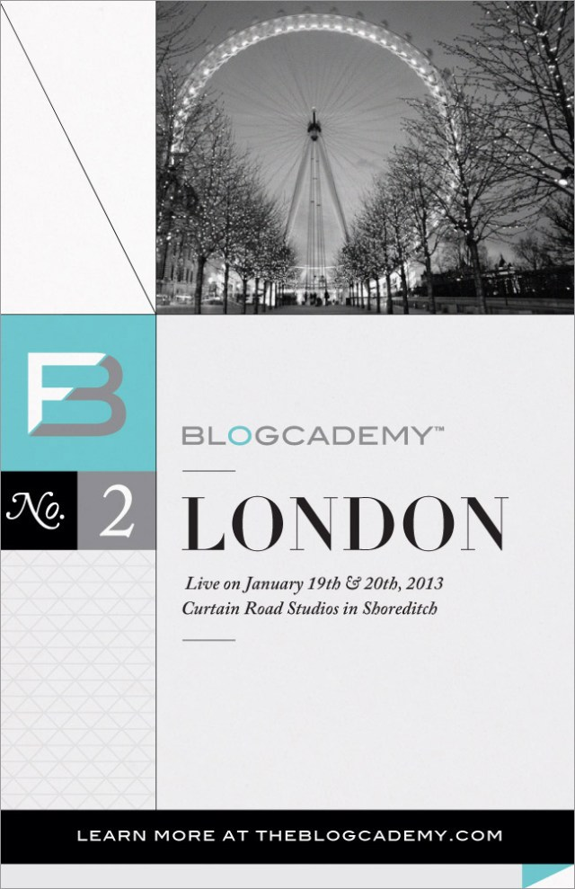 The Blogcademy 02 London