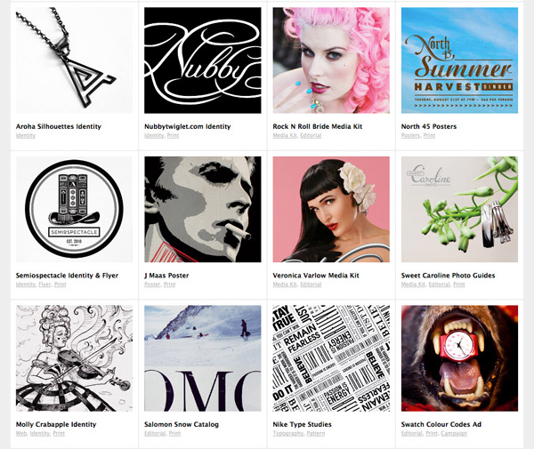 nubby web portfolio